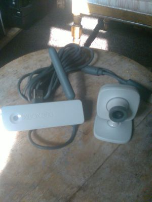 XBOX 360 Wireless Network Adapter & Live Vision Webcam Bundle / Firm Price for Sale in Fullerton, CA