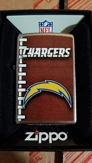 63 Zippo NFL san Diego chargers street chrome 72475 for Sale in Los Angeles, CA