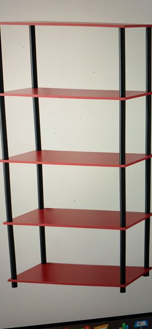 Mainstays no tools 8 cube shelving Storage Unit Red 13b for Sale in Norcross, GA