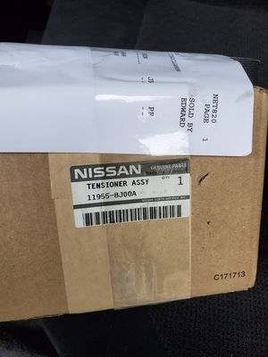 2002- 2006 Nissan Altima driving belt and tensioner for Sale in Lynwood, CA