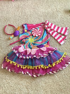 Halloween costume- Moana, Candy Girl, pink princess $10 each for Sale in Keller, TX