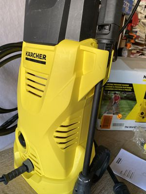 Kracher K2 plus electric power pressure washer 1600 PSI / 1.25 GPM new in excellent working condition all accessories included in open box for Sale in Las Vegas, NV