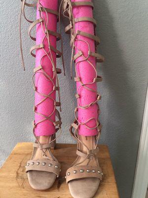 Gianni Binni. Leather sandals 6.5 m for Sale in Dallas, TX