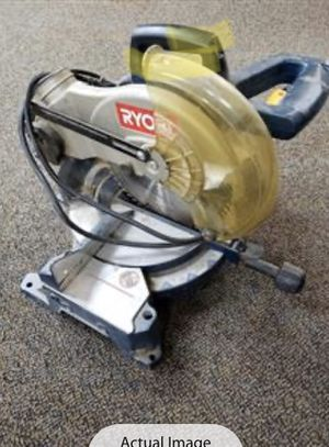 Ryobi compound miter saw for Sale in Henderson, NV