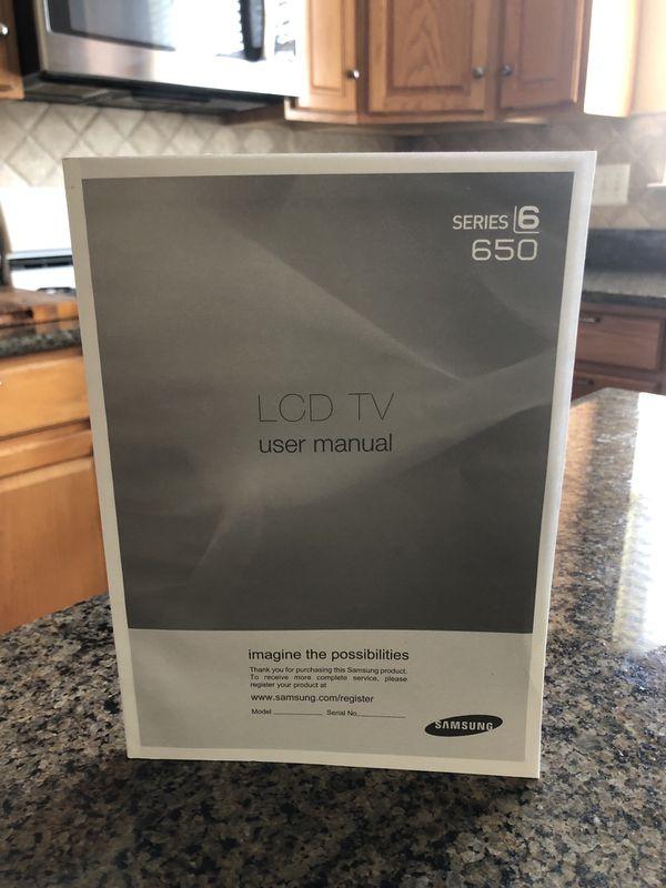 2010 Samsung 50 inch LCD TV (C650)