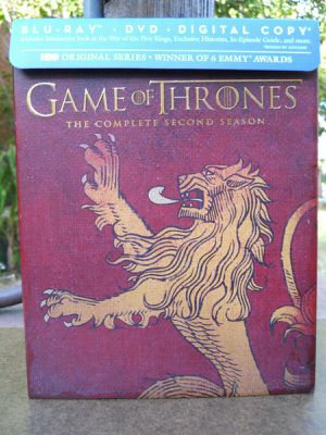 Game of Thrones Season 2 Blu-ray & DVD Lannister Slipcover Best Buy Exclusive Like New NO DIGITAL CODE Second for Sale in Los Angeles, CA