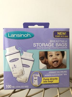 Milk storage bags- BRAND NEW for Sale in Duluth, GA