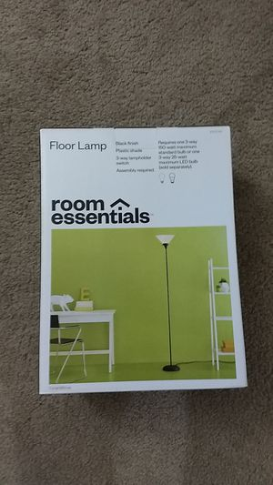 Floor lamp with light for Sale in Scottsdale, AZ