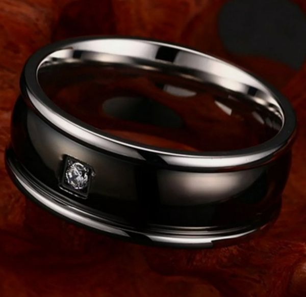 NWT Stainless Steel Ring Sz 12