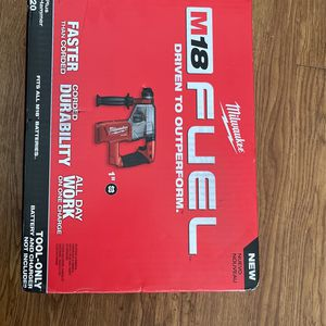 Milwaukee M18 FUEL 18-Volt Lithium-Ion Brushless Cordless 1 in. SDS-Plus Rotary Hammer (Tool-Only) for Sale in Chicago, IL