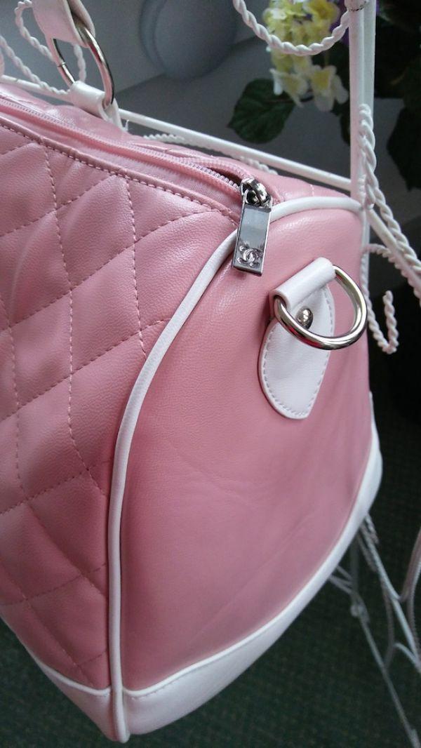 Chanel Travel Duffel Bag w/ Shoulder Strap