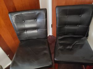Two Bar Height Chairs for Sale in Peoria, IL