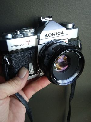 CLEAN Vintage Konica Autoreflex T w/Hexanon AR 52mm f1.7 TESTED for Sale in Chino, CA