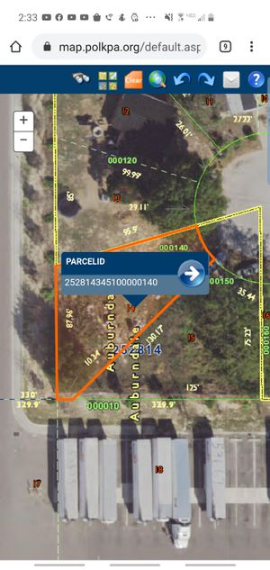 Cheap small lot in prime location for sale by owner for Sale in Auburndale, FL