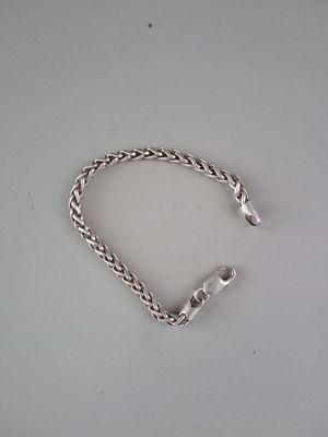 Mens silver bracelet for Sale in Tacoma, WA