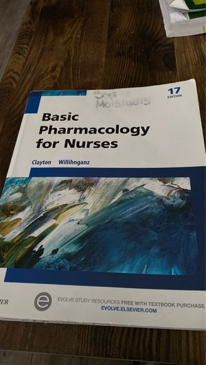 Basic pharmacology for nurses for Sale in West Haven, CT