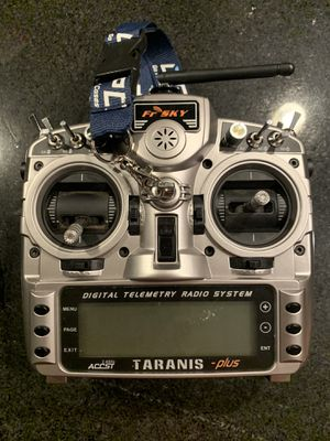 Frsky taranis x9d plus radio transmitter for fpv drone or rc for Sale in West Palm Beach, FL