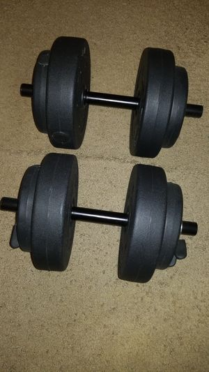Weight set for gym for Sale in Denver, CO