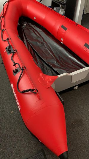 Saturn inflatable boat SD365 12' red (just tubes) for Sale in North Miami Beach, FL