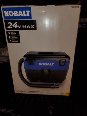 Kobalt 24v 3- gallon wet/dry vacuum for Sale in Riverview, FL