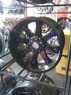 20X10 ballistic rims 33X12.50R20 mt for Sale in Phoenix, AZ