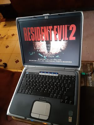 HP Windows XP Pro Retro gaming laptop with Resident Evil 2 Platinum for Sale in Washington, DC