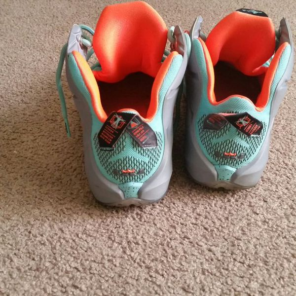 9989a64121acd NIKE LEBRON X11 TURQUOISE for Sale in Hayward