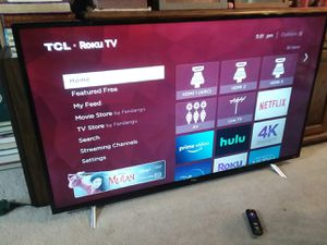 """55"""" TCL 4K Smart TV for Sale in Puyallup, WA"""