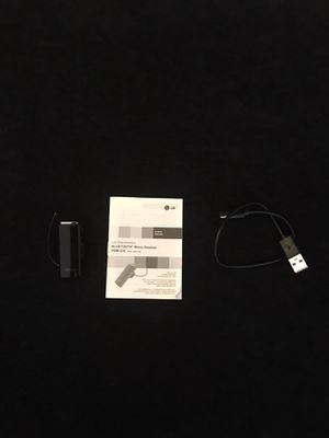 LG Headset Bluetooth Hbm 235 W/ Charger - 13 Hours Of Talk Time - for Sale in Mesa, AZ