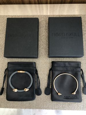 Two Northskull Men's Bracelets for Sale in Tacoma, WA