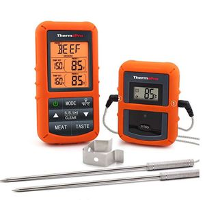 ThermoPro TP20 Wireless Remote Digital Cooking Food Meat Thermometer with Dual Probe for Smoker Grill BBQ Thermometer for Sale in Las Vegas, NV