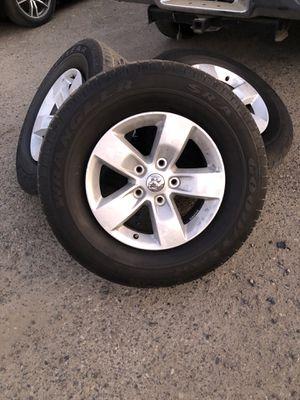 265/70/17 stock Dodge Ram Goodyear tires/rims for Sale in Fresno, CA