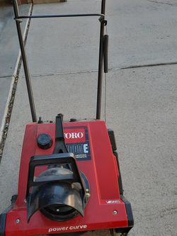 Toro Single Stage Snowblower for Sale in Arvada,  CO