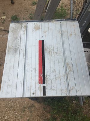Global machinery company table saw for Sale in Goodyear, AZ