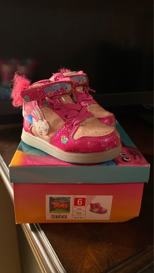Trolls shoes size 6 for Sale in San Diego, CA