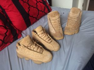 Jordan wheat 13s for Sale in Cleveland, OH