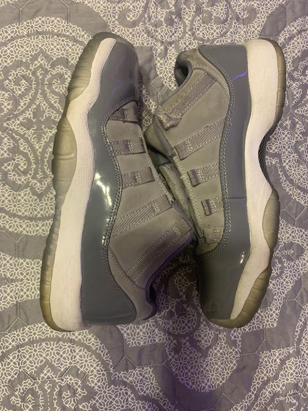 """Air Jordan 11 retro low """"cool gray"""" size 5"""