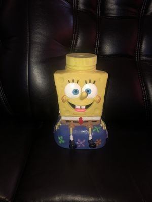 2002 SpongeBob SquarePants Universal Studios Viacom Drinking Cup Figure for Sale in Hayward, CA