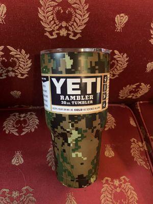 Army Yeti Rambler 30oz Marine Yeti Military Yeti for Sale in Johnson City, TN