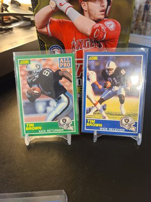 Tim Brown Rookie Lot 2 for Sale in Mission Viejo, CA
