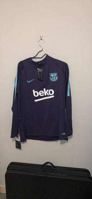Men's FC Barcelona long sleeve sz XL for Sale in Portland, OR