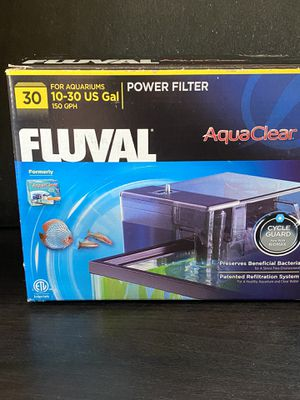 Aquarium filter + foam + carbon + ammonia remover for Sale in Brooklyn, NY