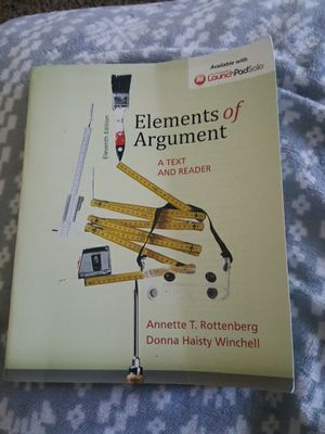 Elements of Argument college textbook for Sale in San Diego, CA