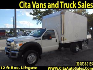 2012 FORD F450 12 FT BOX TRUCK LIFTGATE F-450 12 FT BOX TRUCK F450 12 FT BOX TRUCK for Sale in Miami Springs, FL
