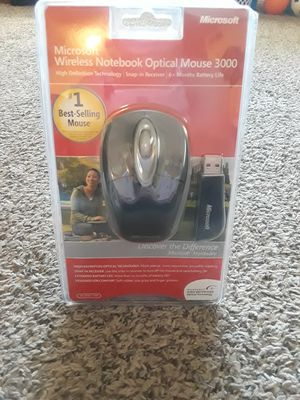 Microsoft Wireless Notebook Mouse 3000 for Sale in Blue Springs, MO