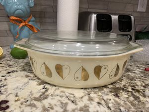Pyrex golden hearts casserole dish for Sale in Long Beach, CA