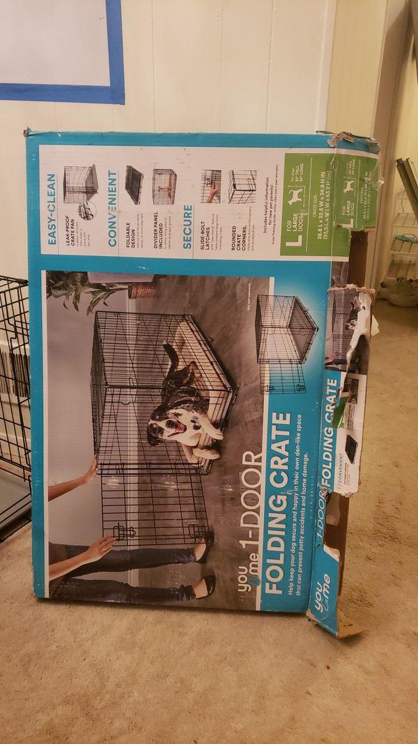 "Dog crate 36x22"""