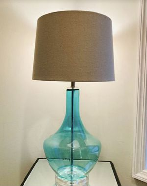 Large Glass Lamp for Sale in Queens, NY
