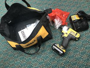 Drill, Tools-Power Dewalt Drill W/2 Batteries & Charger.. Negotiable for Sale in Baltimore, MD