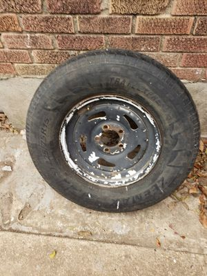 1 TRAILER TIRE AND WHEEL for Sale in Dallas, TX